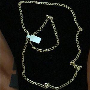Other - Bracelet & Chain Necklace